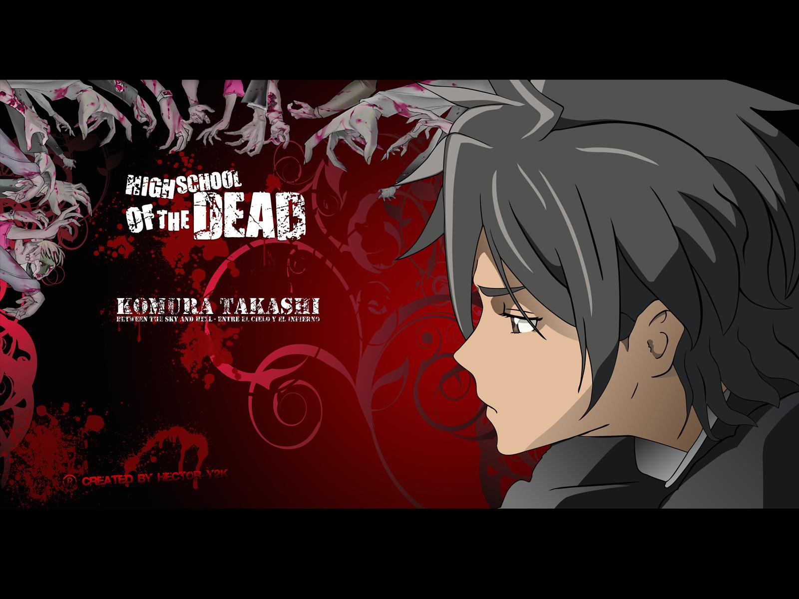 Школа мертвецов аниме обои и картинки