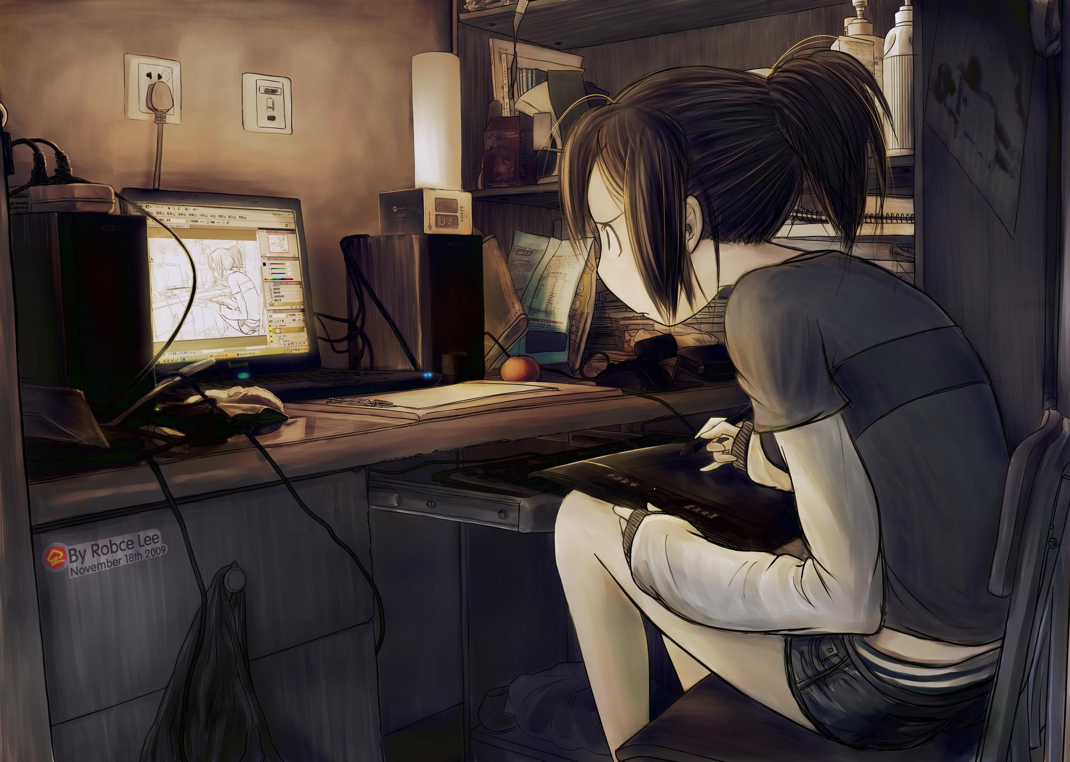 картинки аниме на компьютер: