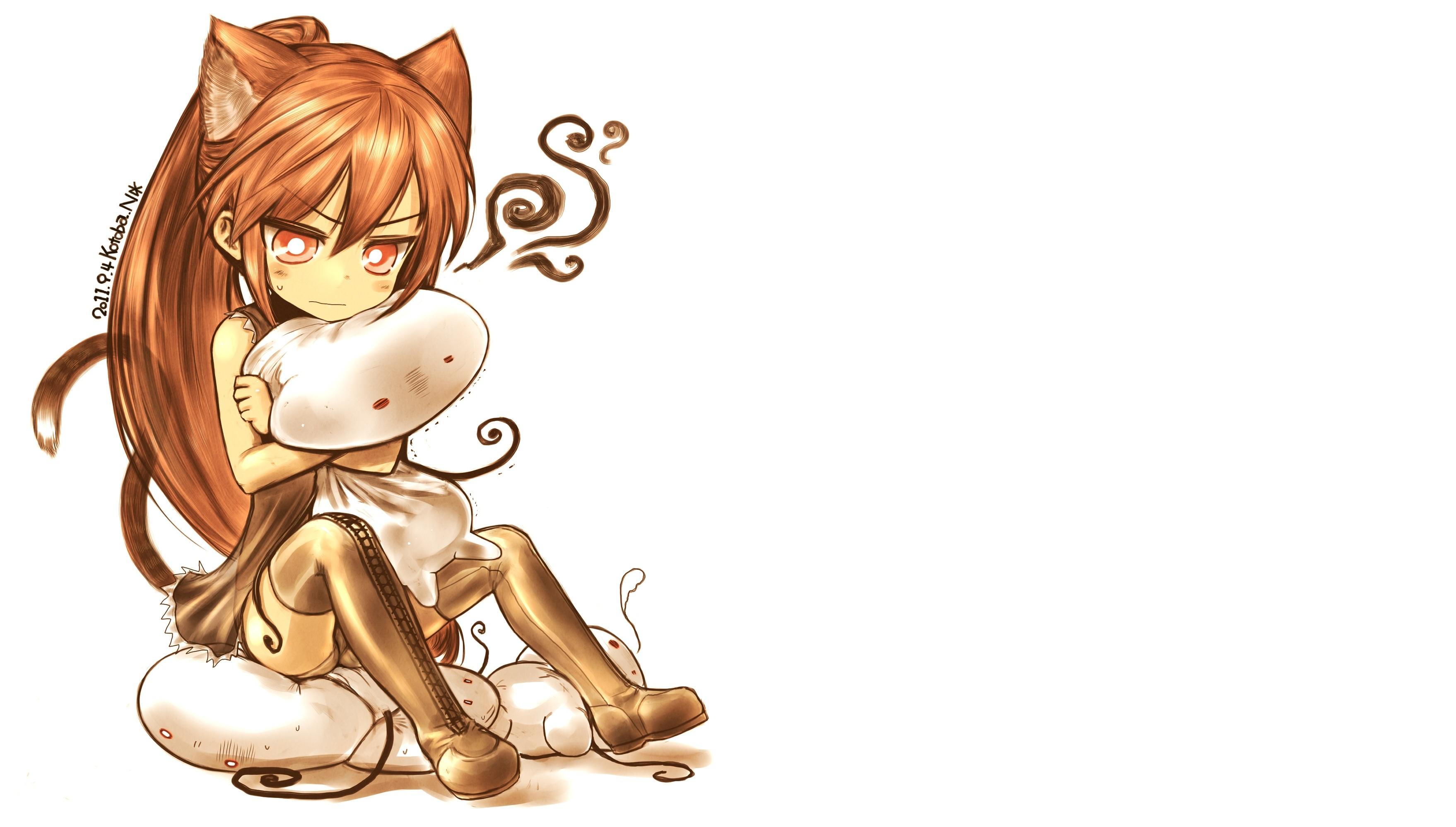 аниме девочки кошки картинки: