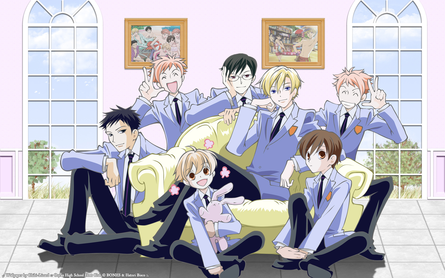 Ouran Highschool Host Club Crest Хост-клу...